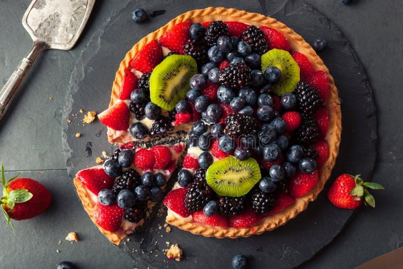 Syrlig hemlagad frukt för nyckel- limefrukt fotografering för bildbyråer
