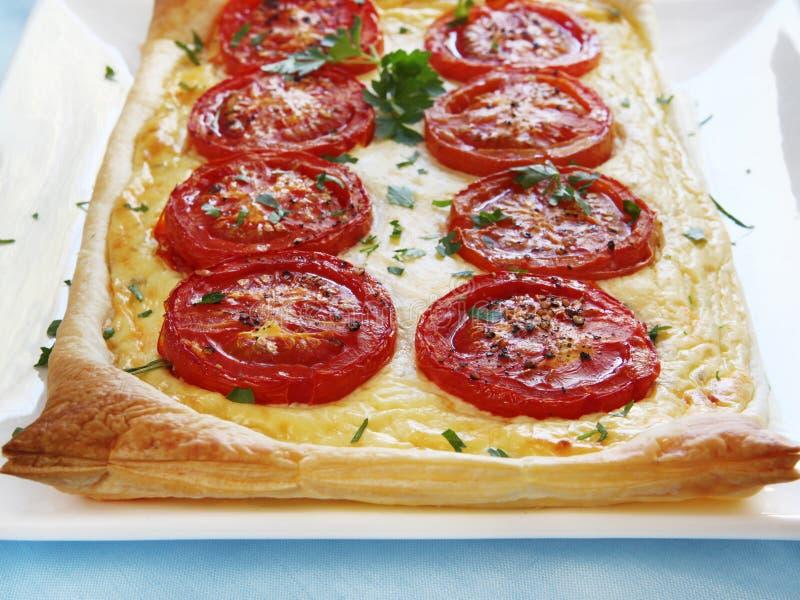 syrlig tomat för ricotta royaltyfri foto