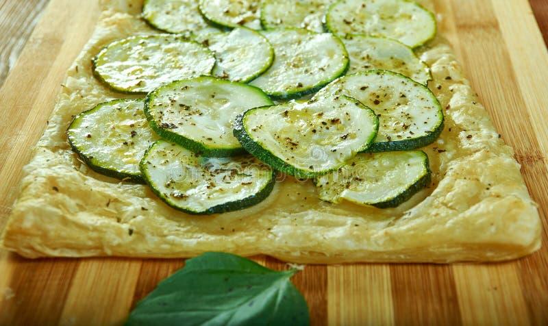 Syrlig zucchini royaltyfria bilder