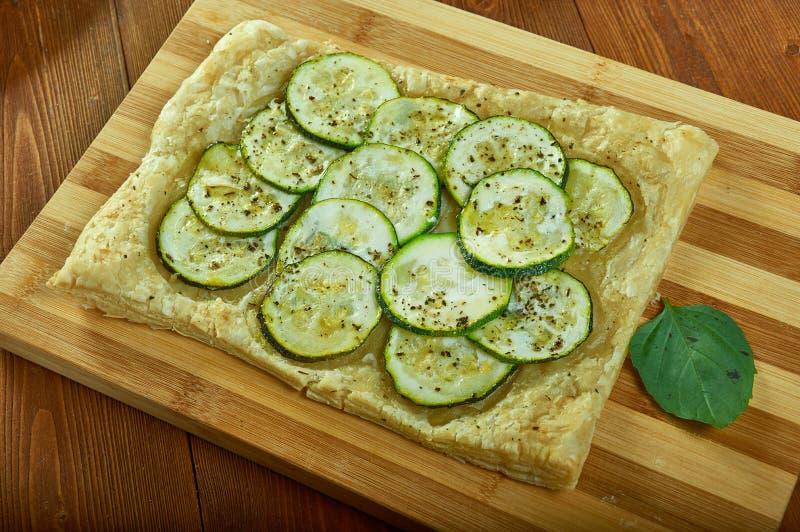 Syrlig zucchini arkivbild
