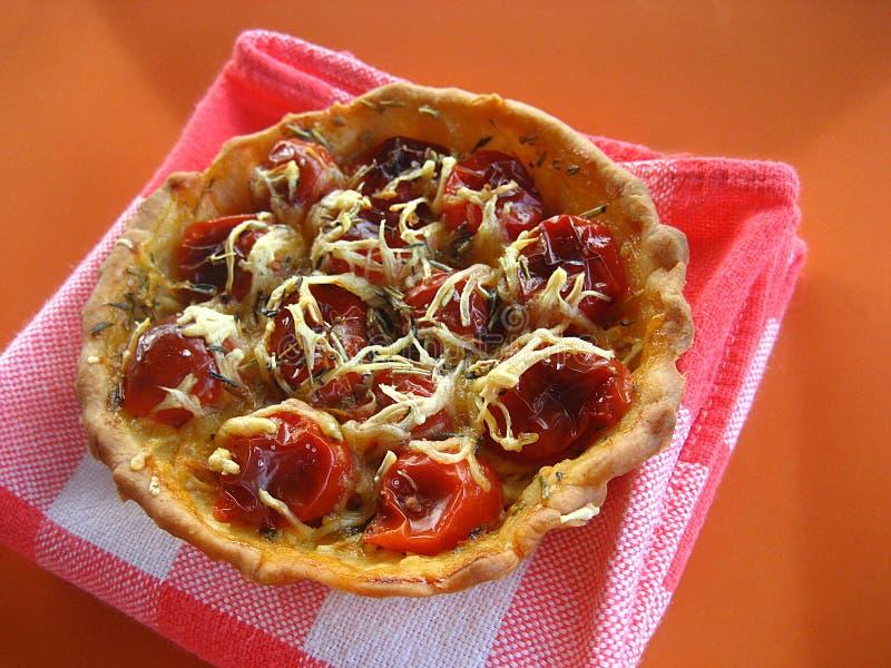 Syrliga Tomater För Cherry Arkivfoto