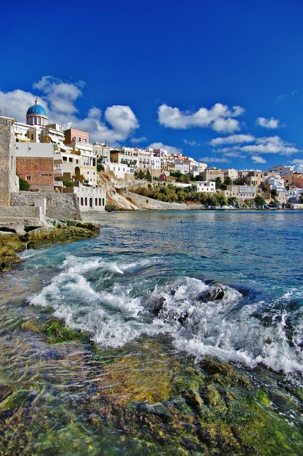 Syros, Grecja zdjęcia stock