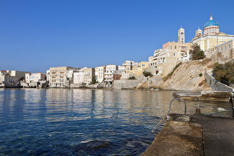 Download Syros island in Greece stock photo. Image of greek, ocean - 31277132