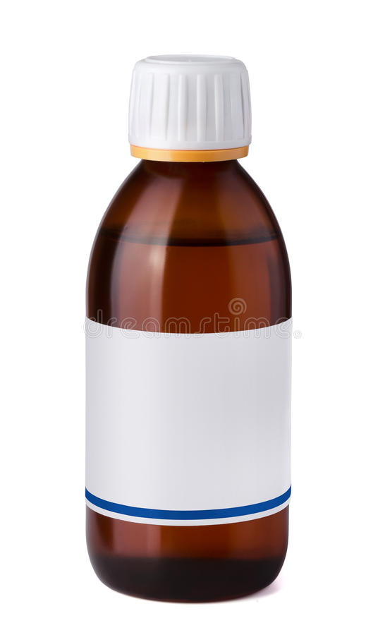 Download Syrup bottle stock image. Image of paper, liquid, care - 27056093
