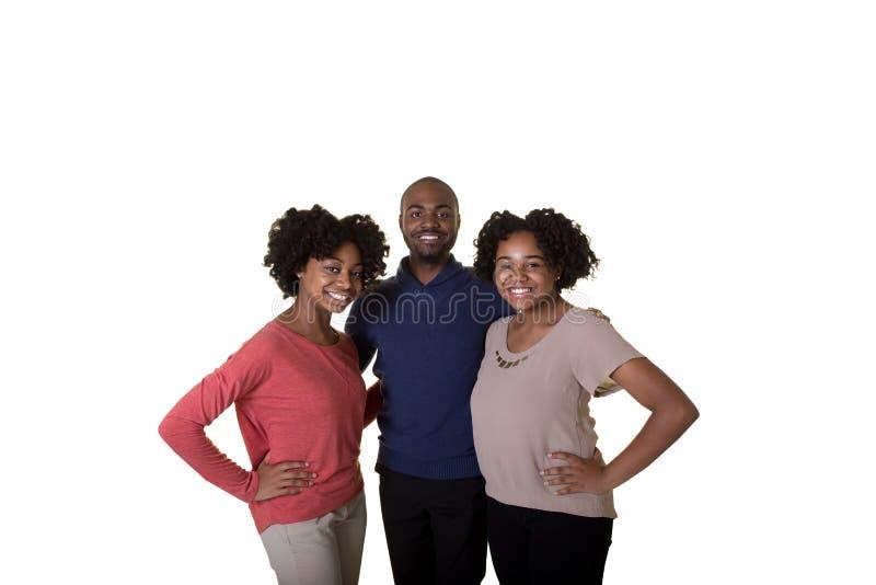 3 syskon eller vänner arkivfoton