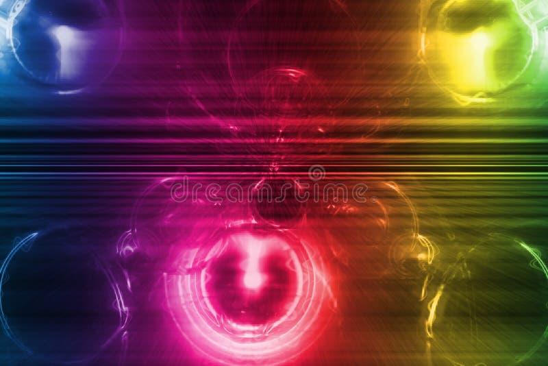 système abstrait d'arc-en-ciel d'affaires de fond illustration de vecteur