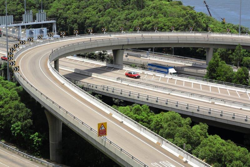 Système d'autoroute image libre de droits