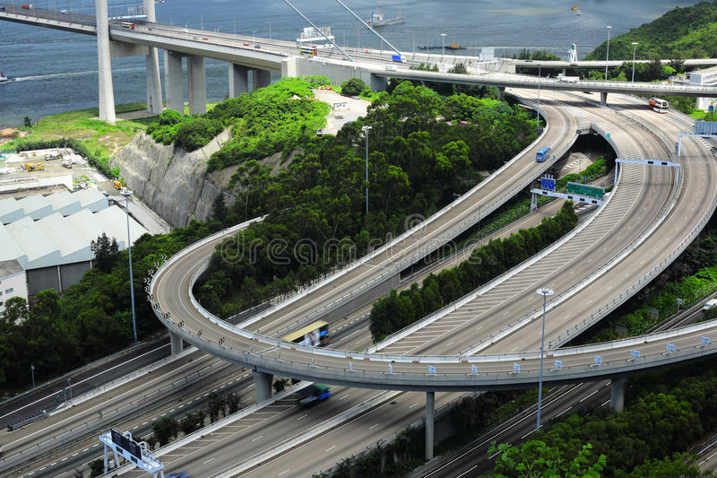 Système d'autoroute images stock