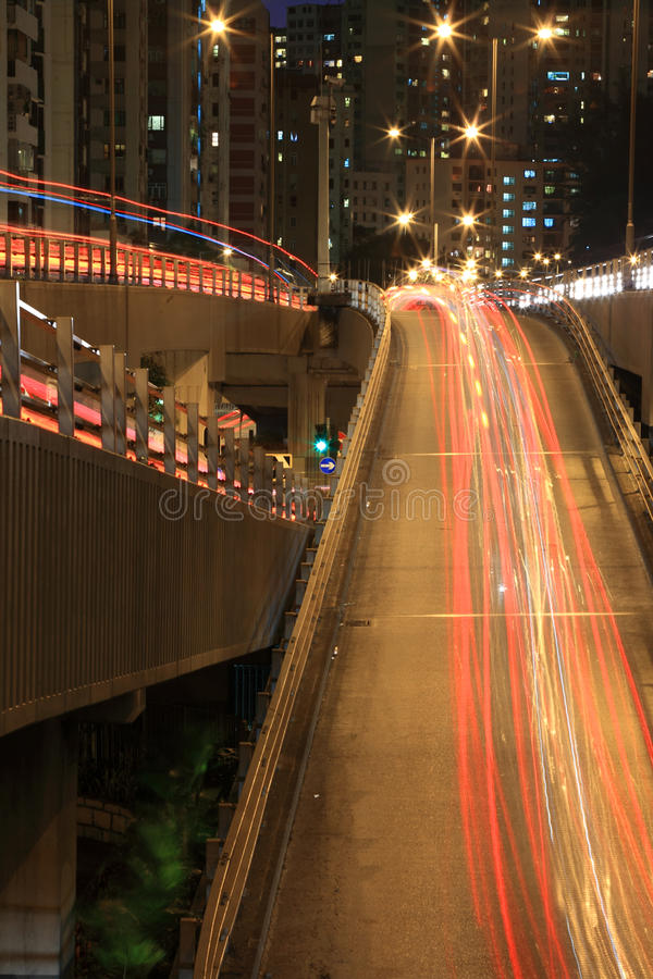 Système d'autoroute de Hong Kong image stock