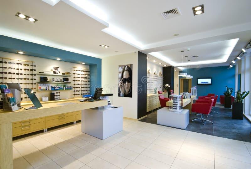 système d'opticien photographie stock