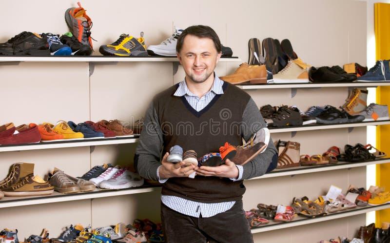 Système de chaussure photo stock