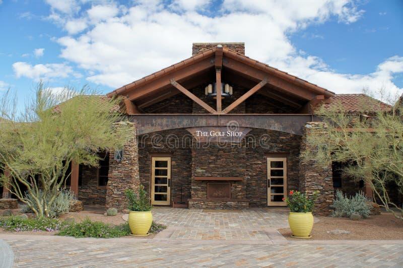 Système de golf à la montagne de colombe, Arizona image stock