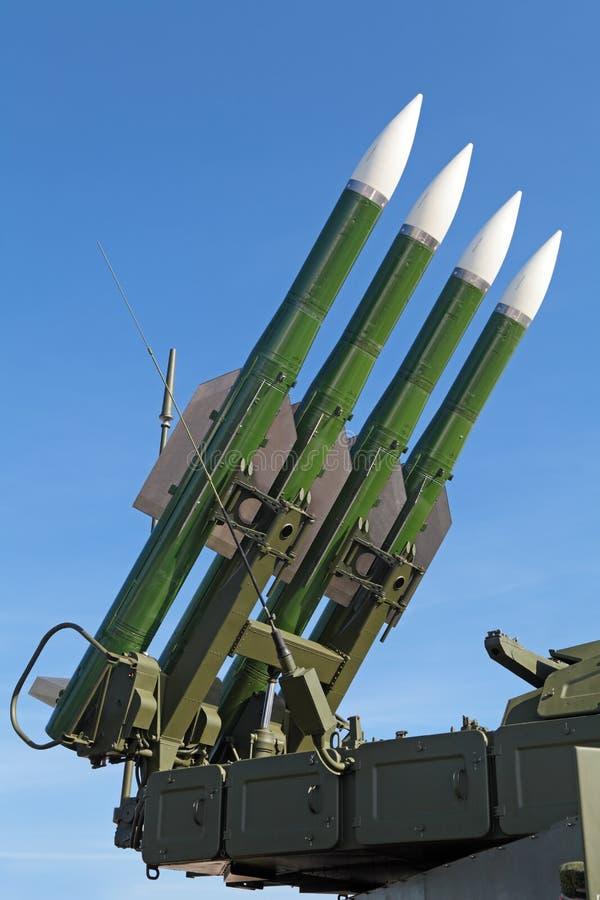 Système de missiles de Buk photographie stock libre de droits