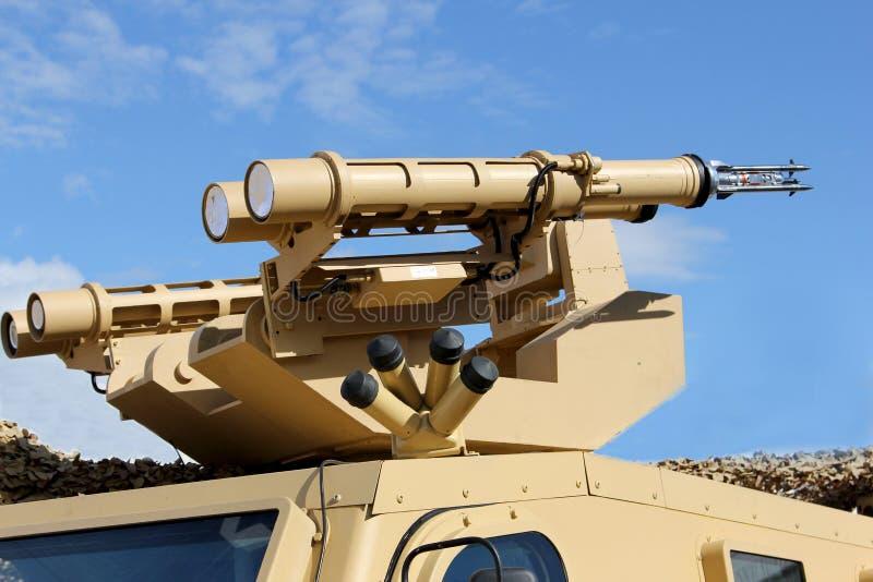 Système de missiles de traînée d'étoile image stock