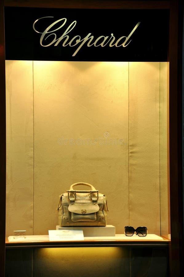Système de mode de Chopard en Italie   images stock