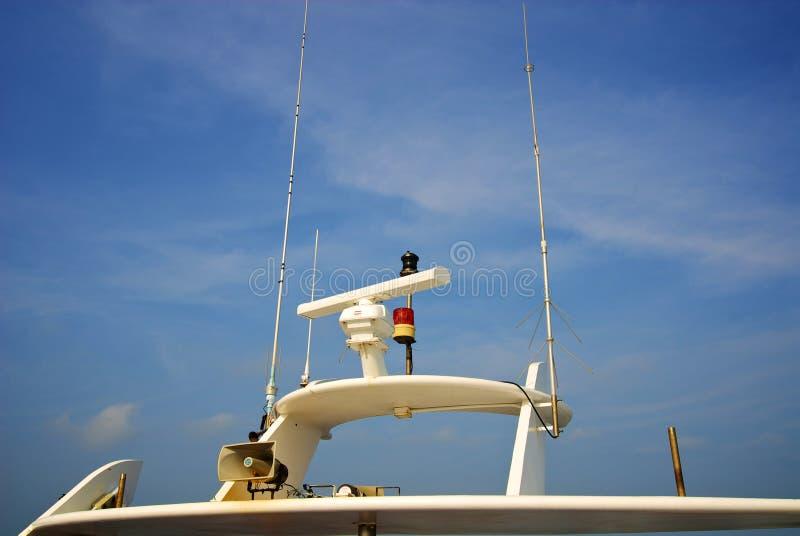 Système de navigation image stock