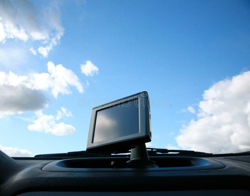 Système de navigation satellite photos stock