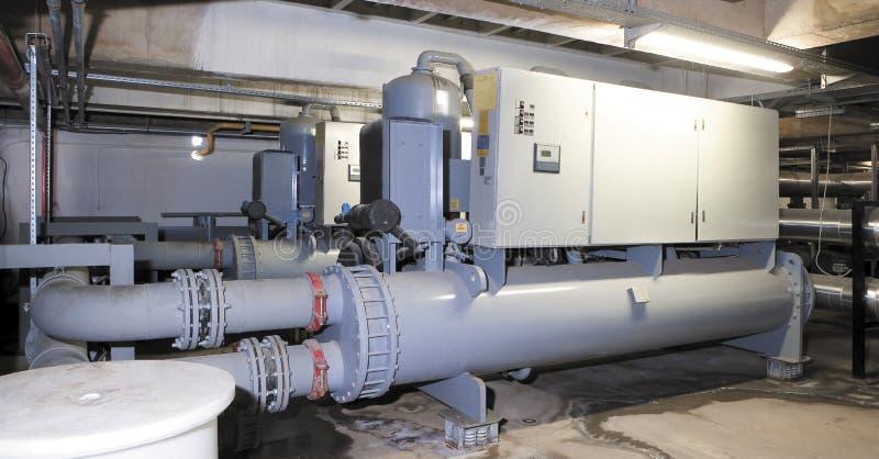 Système de production d'électricité pour le centre commercial, l'usine et les sites vivants image stock
