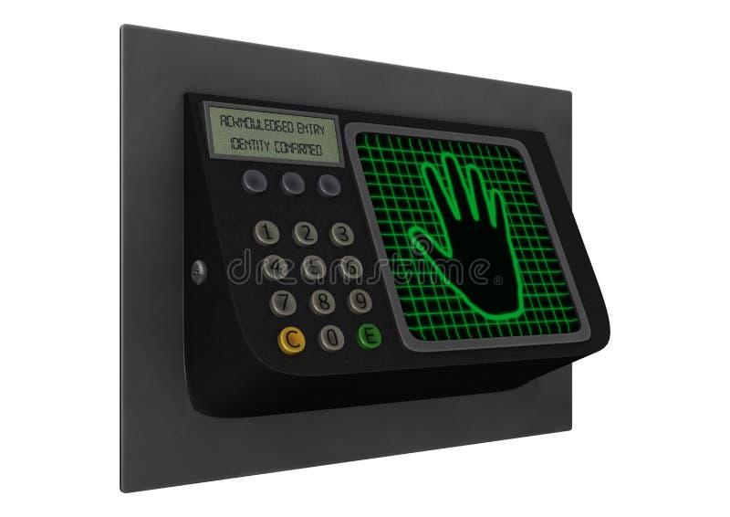 Système de sécurité illustration de vecteur