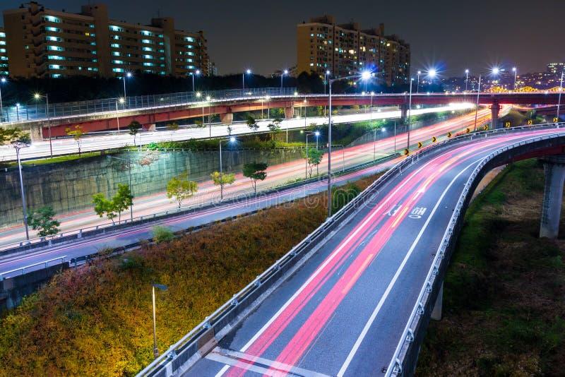 Système de transport à Séoul images libres de droits