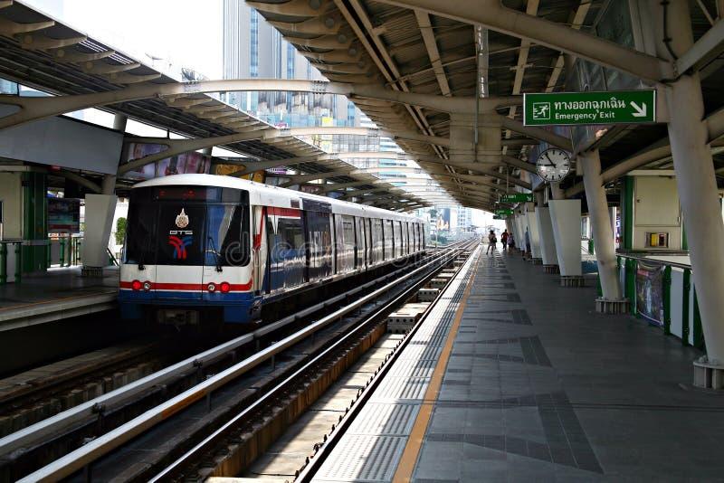 Système de transport de rapid de bus de Bangkok photos libres de droits