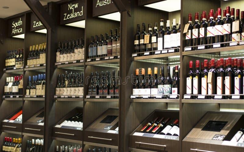 Système de vin images stock
