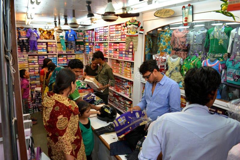 Système indien de tissu à Jaipur photographie stock libre de droits