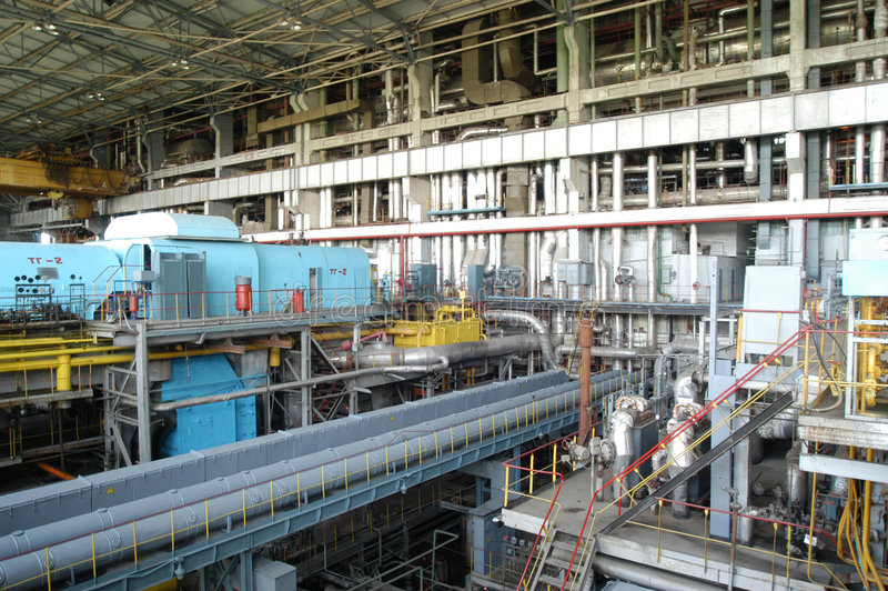 Système industriel photos stock