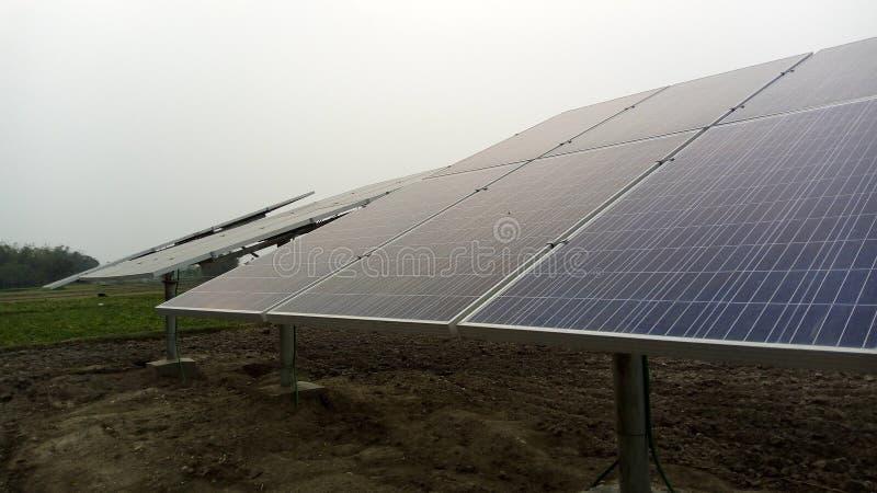 Système pénal solaire images stock