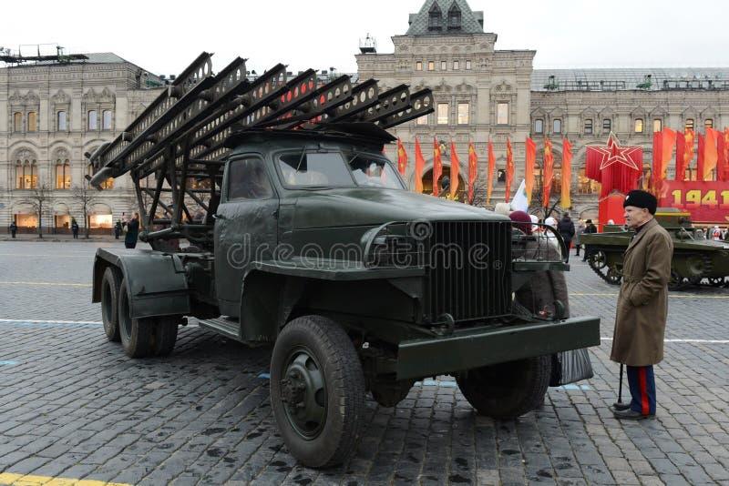 Système réactif du feu de volée à la base de la voiture Studebaker photo libre de droits
