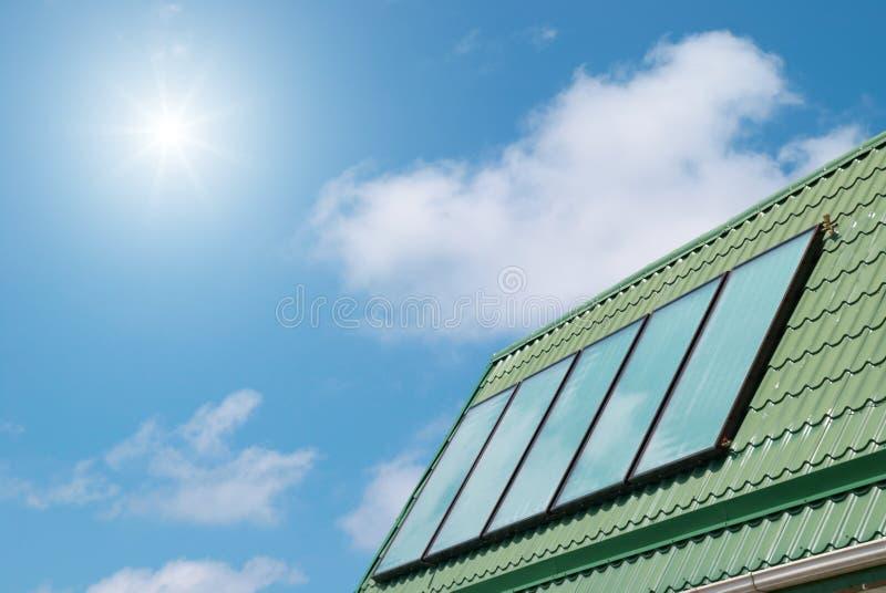 Système solaire photographie stock