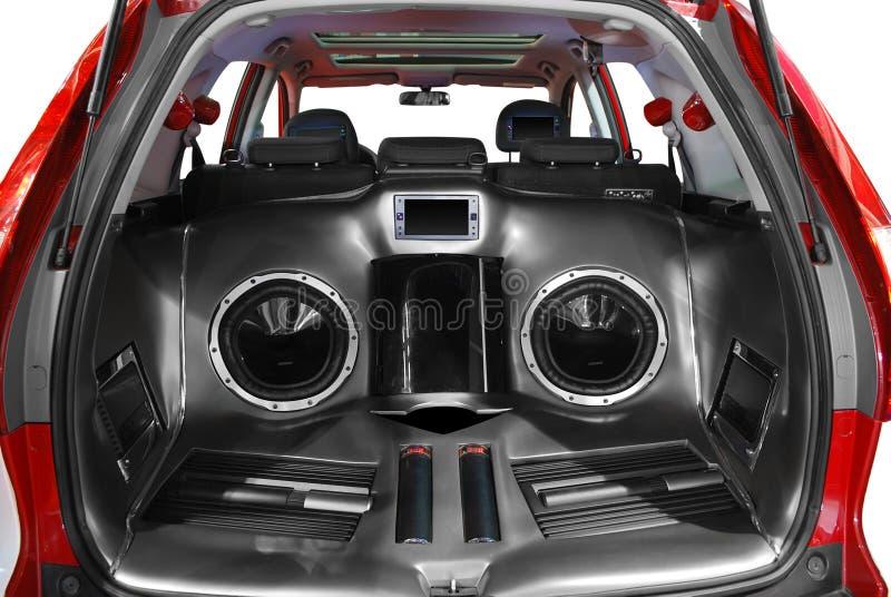 système sonore de véhicule photo libre de droits