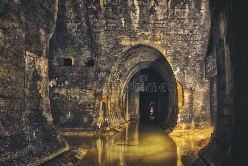 Système souterrain sous la ville images libres de droits