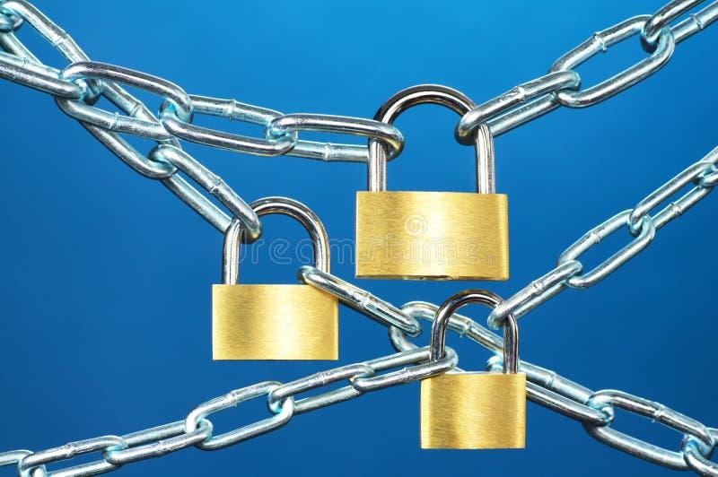 Systèmes de forte sécurité. photo libre de droits