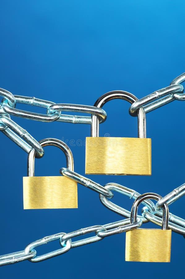 Systèmes de forte sécurité. images stock