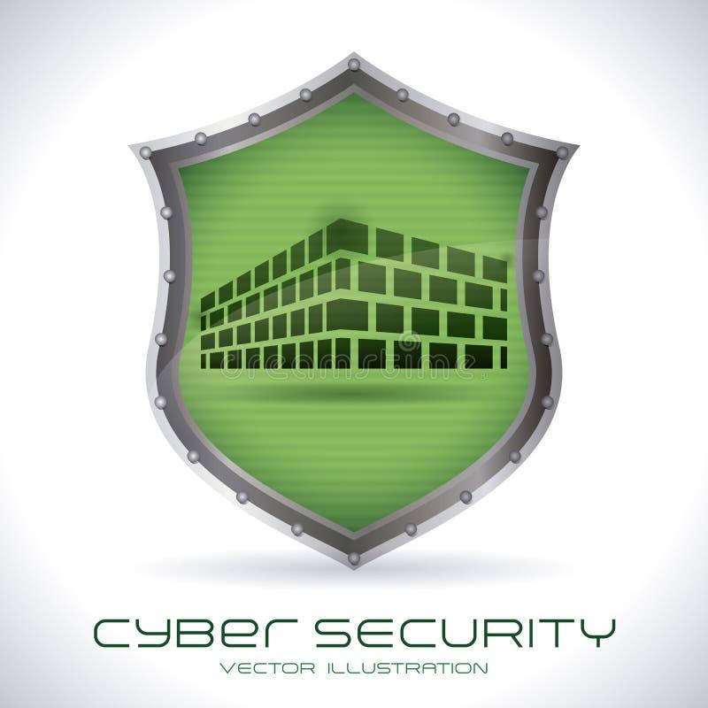 System Bezpieczeństwa royalty ilustracja