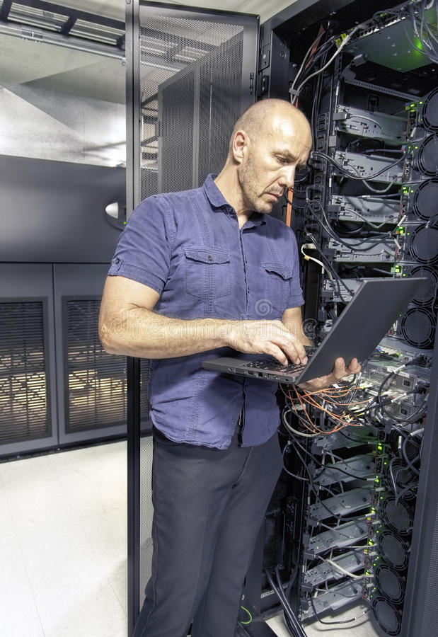 System Engineer II royalty free stock photography