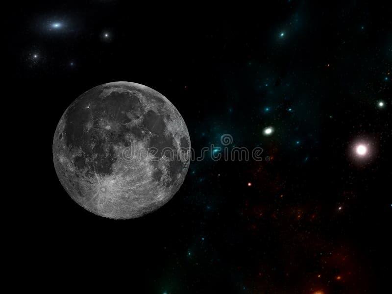 System f?r galax A av miljoner eller miljarder av stj?rnor, samman med gas och damm som tillsammans rymms av den gravitations- dr vektor illustrationer