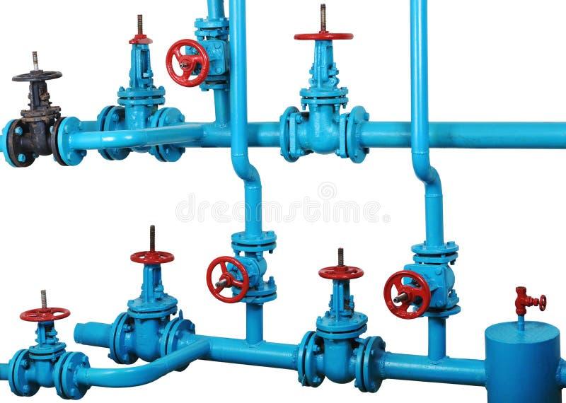 System för uppvärmning för vatten för knutpunktkommunikationsteknologi arkivfoton