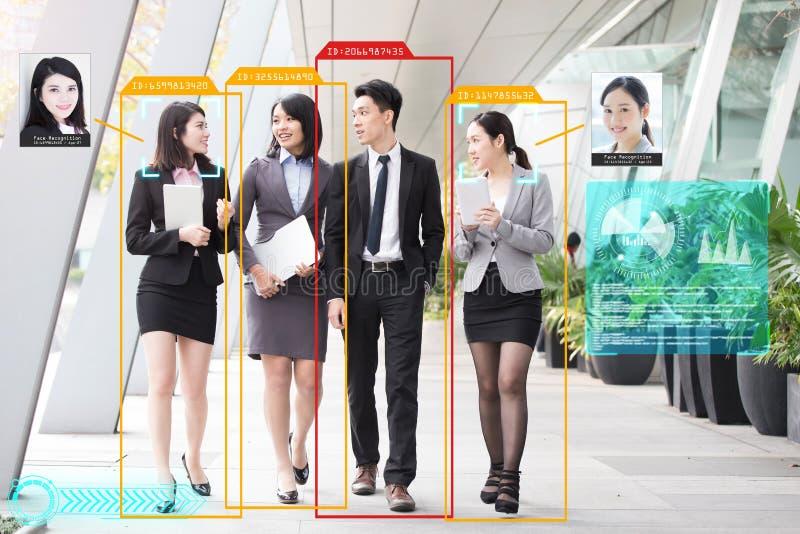 System f?r konstgjord intelligens fotografering för bildbyråer