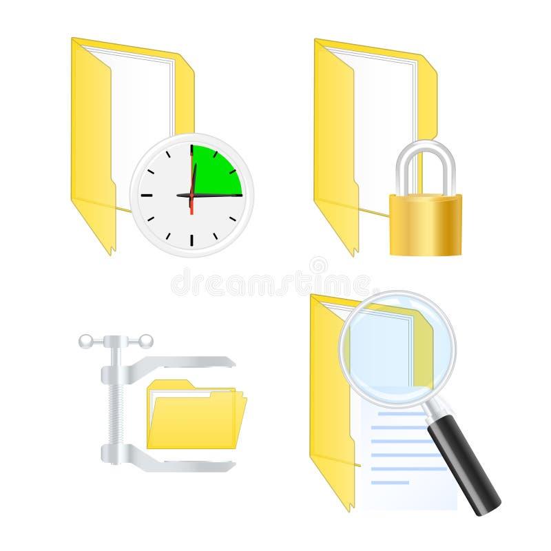 System icons. Vector illustration vector illustration