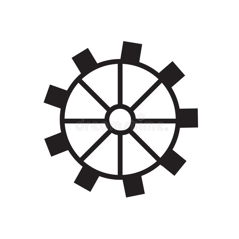 System preferences icon royalty free illustration