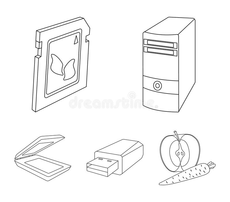 Card Scanner Icon Stock Illustrations