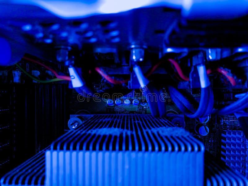 System w serwerów i serwerów dane pokoju zdjęcia royalty free