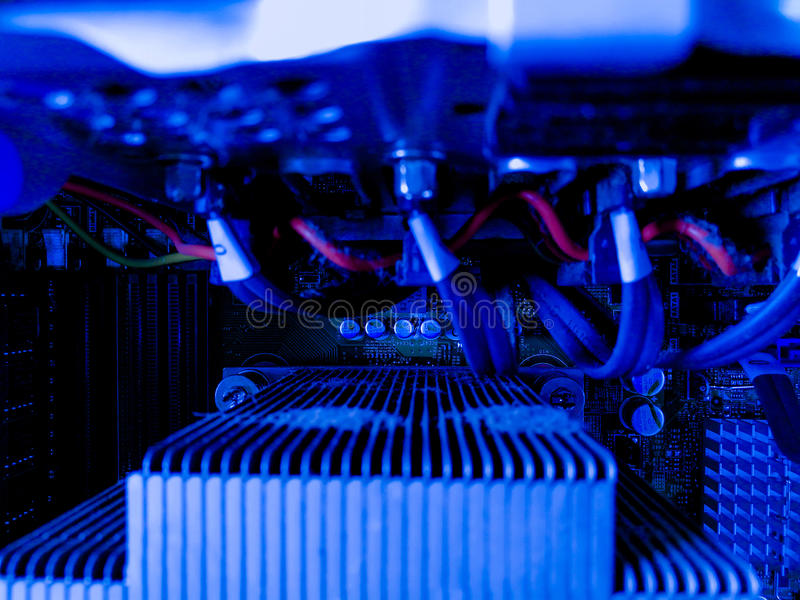 System w serwerów i serwerów dane pokoju zdjęcie stock