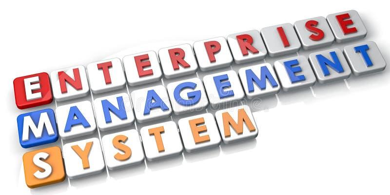 System Zarządzania royalty ilustracja
