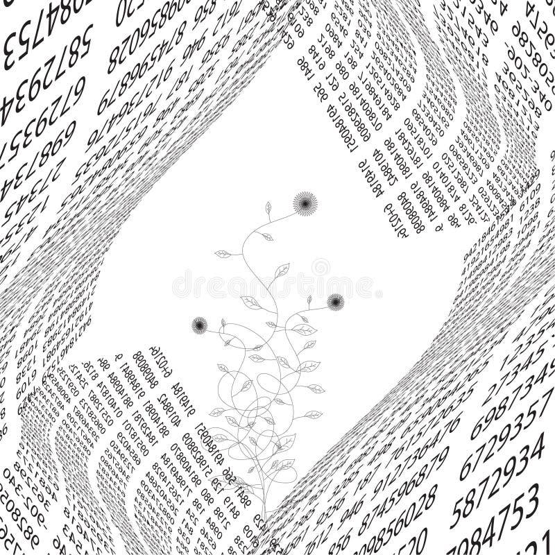 Systemfehler. codieren Sie Hintergrund   vektor abbildung