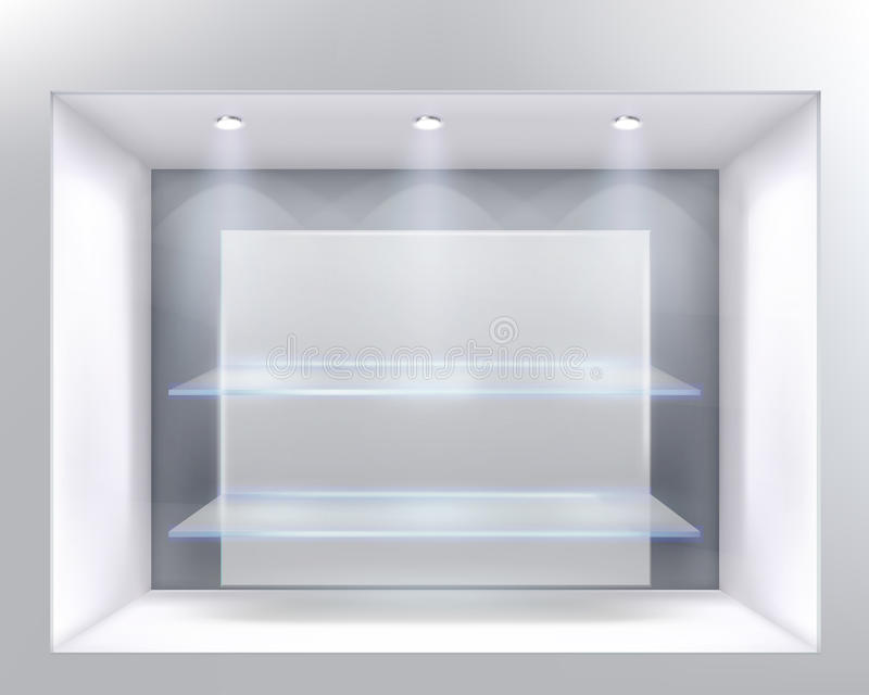 Systemfenster stock abbildung