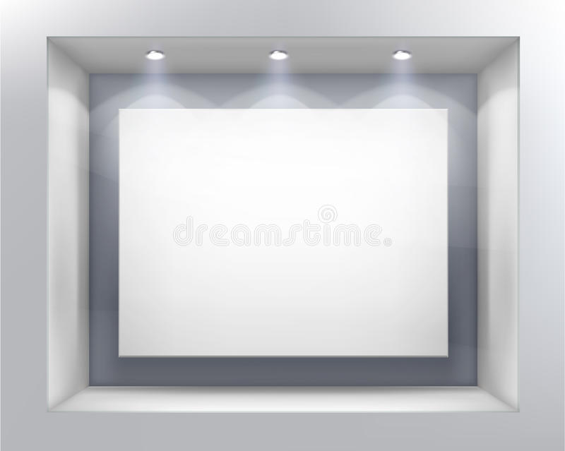 Systemfenster. Vektorabbildung. stock abbildung
