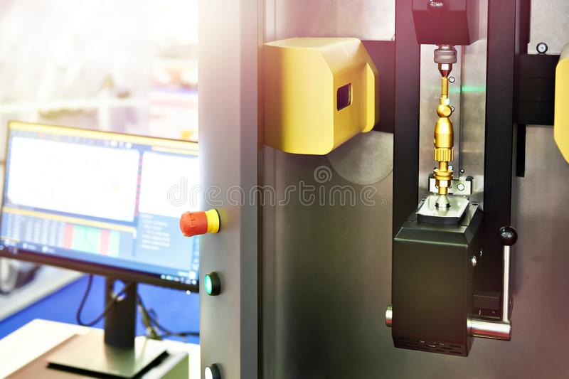 Systems for optical shaft measurement stock image